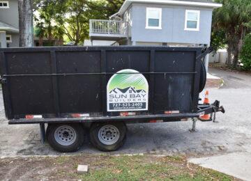Sun Bay Builders trailer