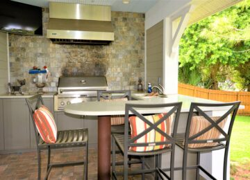 Sun Bay Builders outdoor kitchen St. Pete Florida