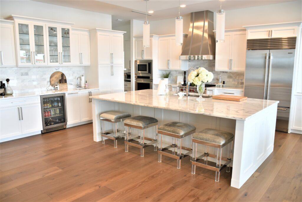 Transitional kitchen Sun Bay Builders new custom home