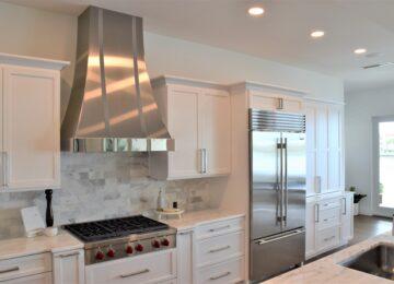 Wolf appliances in new kitchen