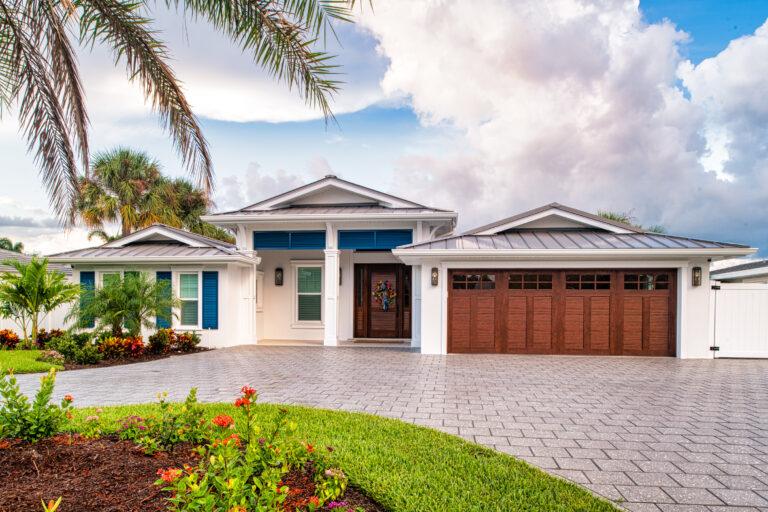 New Coastal Contemporary home Sun Bay Builders