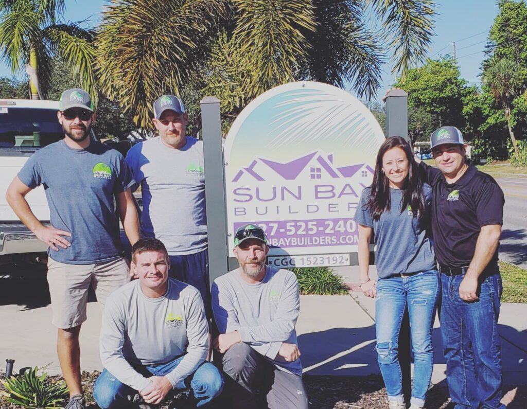 Sun Bay Builders team St. Pete Florida