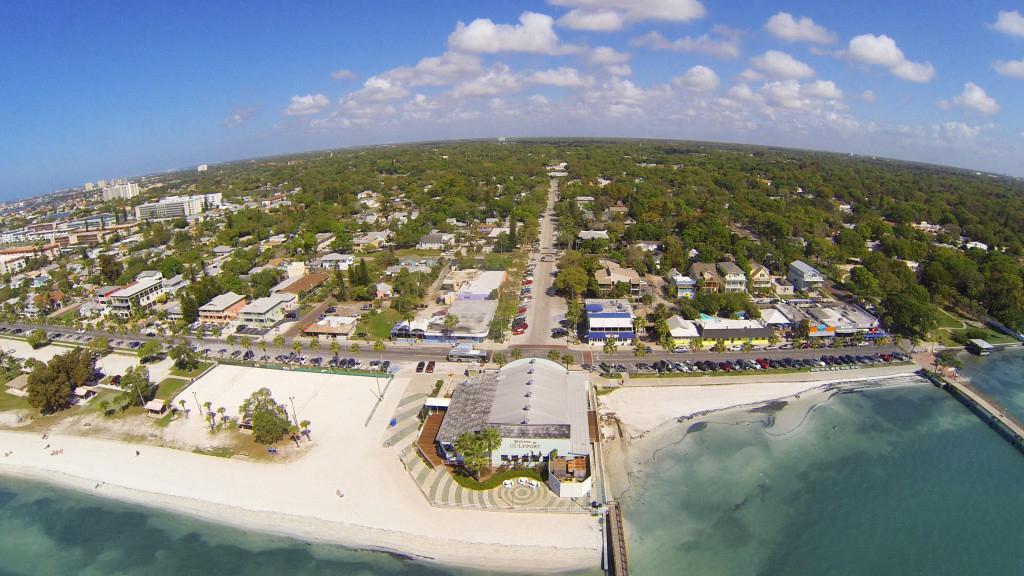 Gulfport Florida aerial view