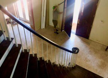 Demo of a door custom home builder